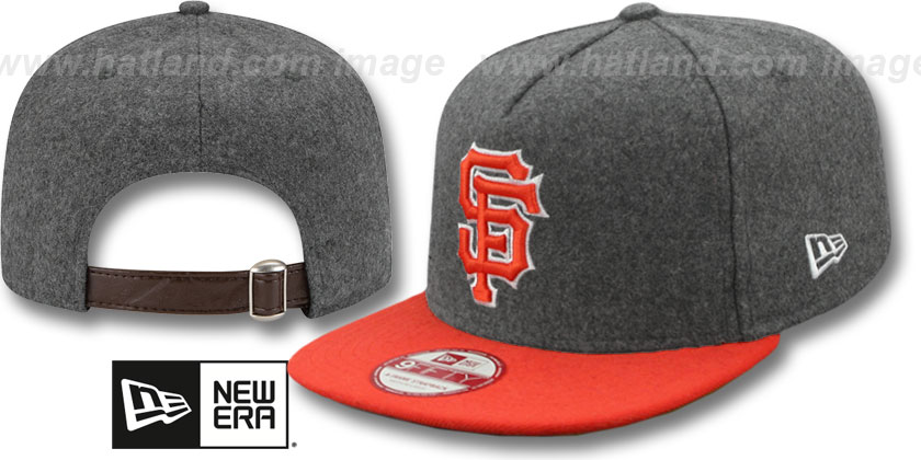 San Francisco Giants-Melton Snapback Hat SF 12