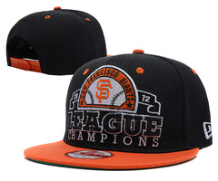 San Francisco Giants MLB 2012 Champion Snapback Hat SD1