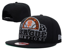 San Francisco Giants MLB 2012 Champion Snapback Hat SD2
