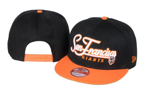 San Francisco Giants MLB Snapback Hat 60D 2
