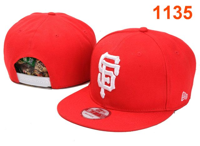 San Francisco Giants MLB Snapback Hat PT007