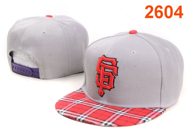San Francisco Giants MLB Snapback Hat PT136