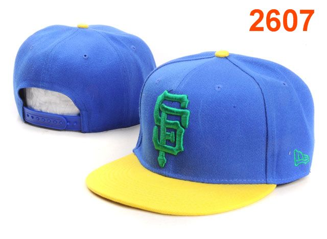 San Francisco Giants MLB Snapback Hat PT139