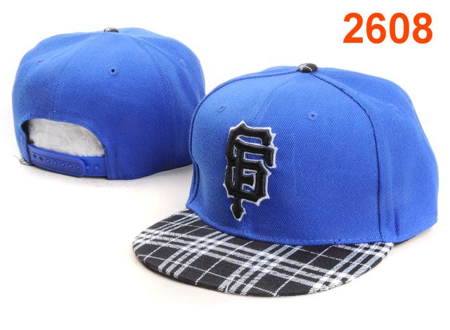 San Francisco Giants MLB Snapback Hat PT140