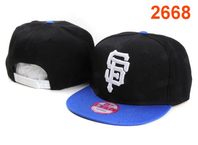 San Francisco Giants MLB Snapback Hat PT158