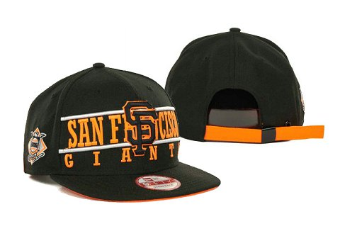 San Francisco Giants MLB Snapback Hat SD2