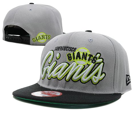 San Francisco Giants MLB Snapback Hat SD4