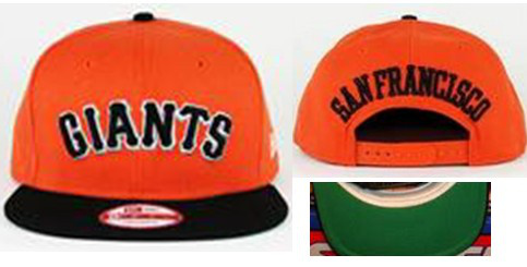San Francisco Giants MLB Snapback Hat Sf3
