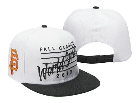 San Francisco Giants MLB Snapback Hat Sf6