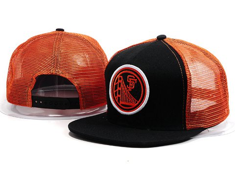 San Francisco Giants MLB Snapback Hat YX068