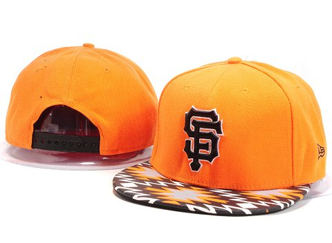 San Francisco Giants MLB Snapback Hat YX085