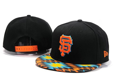 San Francisco Giants MLB Snapback Hat YX087