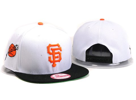 San Francisco Giants MLB Snapback Hat YX100