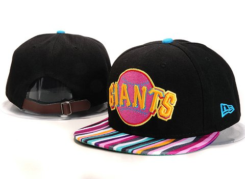 San Francisco Giants MLB Snapback Hat YX111