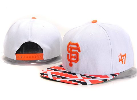 San Francisco Giants MLB Snapback Hat YX113