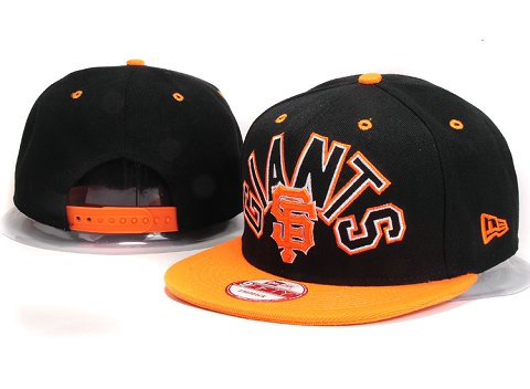 San Francisco Giants MLB Snapback Hat YX117