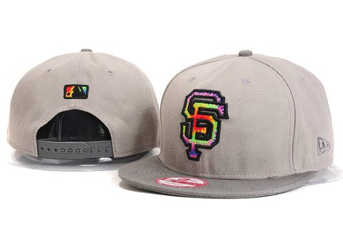 San Francisco Giants MLB Snapback Hat YX126