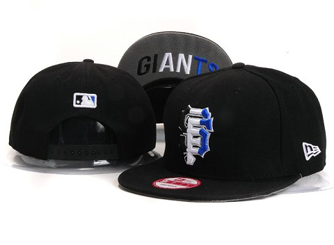 San Francisco Giants MLB Snapback Hat YX141