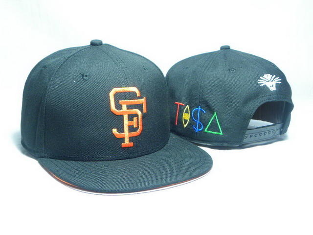 San Francisco Giants TISA Snapback Hat DD09