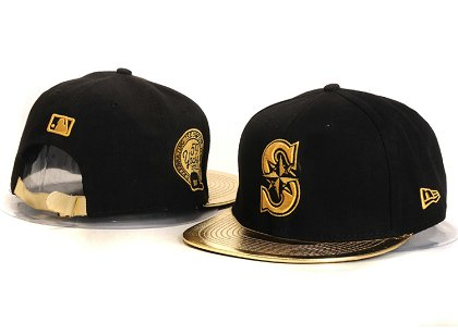 Seattle Mariners New Type Snapback Hat YS 87J07