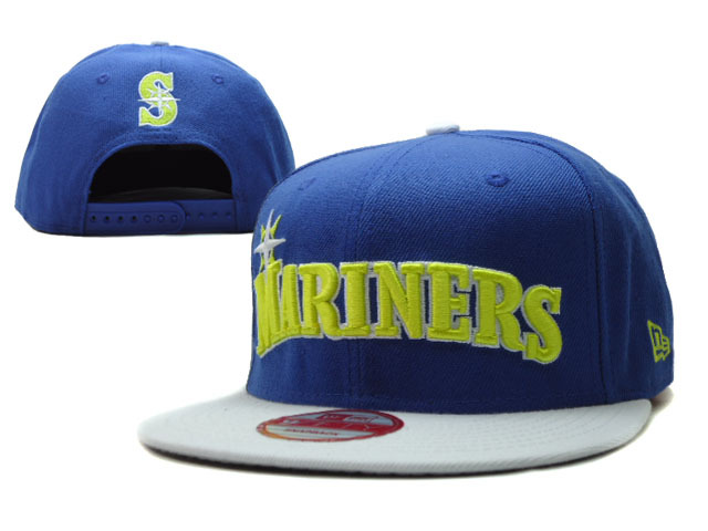 Seattle Mariners Snapback Hat SF