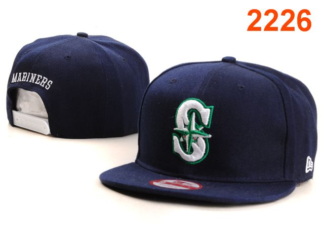 Seattle Mariners MLB Snapback Hat PT066