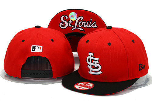 St.Louis Cardinals Red Snapback Hat YS 0606