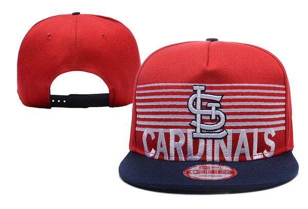 St Louis Cardinals Snapback Red Hat XDF 0620