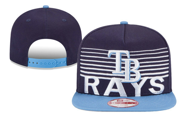Tampa Bay Rays Snapback Hat XDF 0620