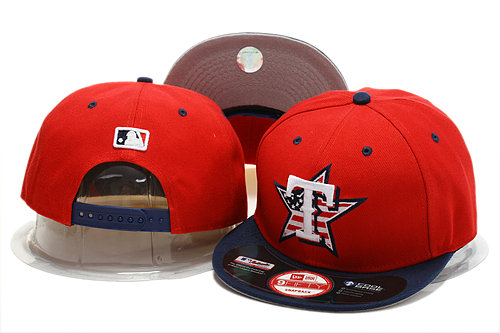 Texas Rangers Red Snapback Hat YS 0721
