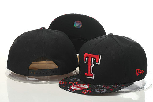 Texas Rangers Snapback Black Hat GS 0620
