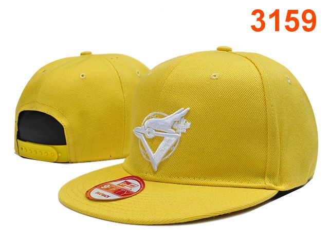 Toronto Blue Jays Yellow Snapback Hat PT 0701