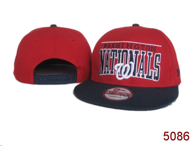 Washington Nationals Snapback Hat SG 3846