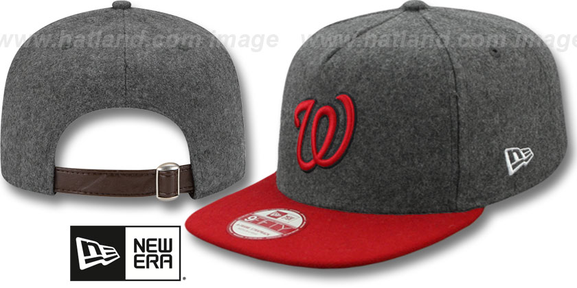 Washington Nationals-Melton Snapback Hat SF 12