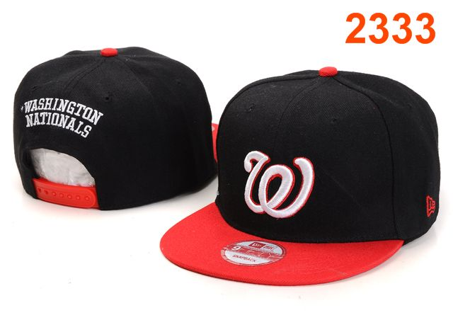Washington Nationals MLB Snapback Hat PT096