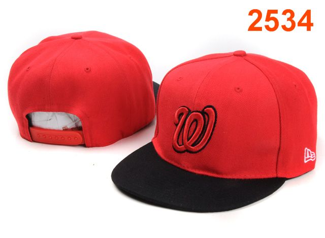 Washington Nationals MLB Snapback Hat PT117