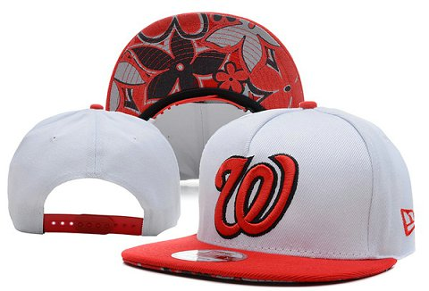Washington Nationals MLB Snapback Hat XDF11