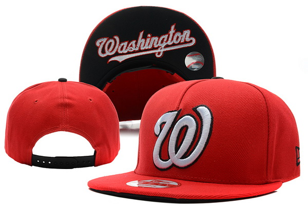 Washington Nationals MLB Snapback Hat XDF38