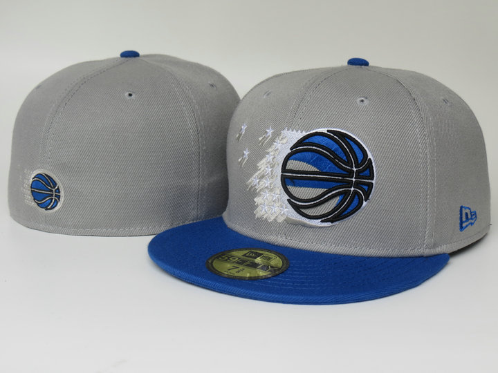 Orlando Magic Grey Fitted Hat LS