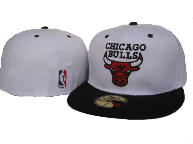Chicago Bulls NBA Fitted Hat01