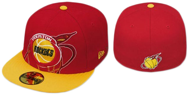 Houston Rockets NBA Fitted Hat09