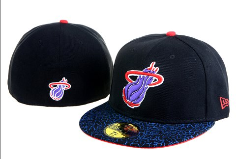 Miami Heat NBA On Field 59FIFTY Hat 60D3