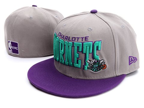 New Orleans Hornets NBA Fitted Hat03