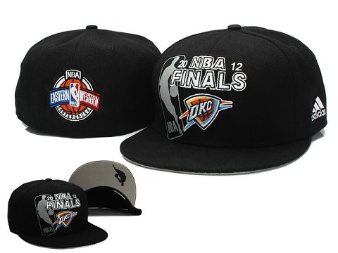 Oklahoma City Thunder NBA Fitted Hat04