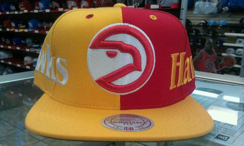 Atlanta Hawks NBA Snapback Hat SD