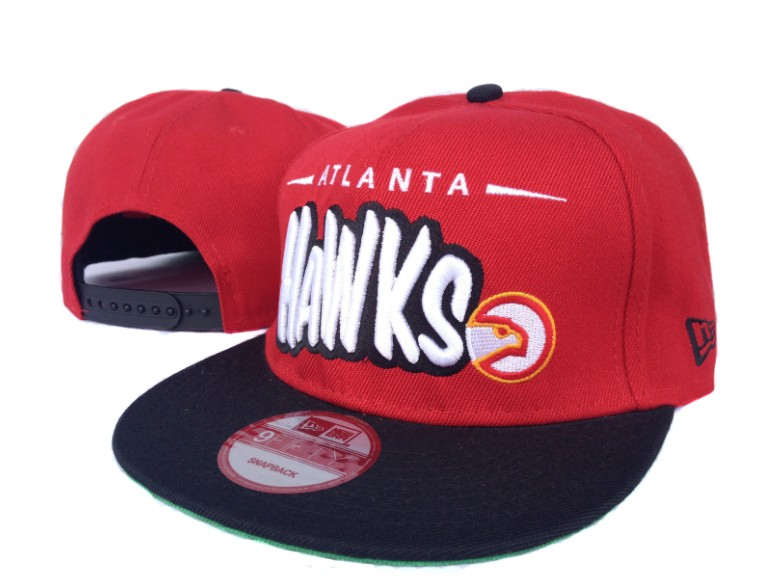 Atlanta Hawks NBA Snapback Hat SF2