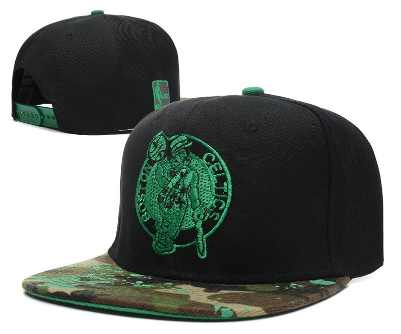 Boston Celtics Snapback Hat DF