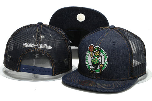 Boston Celtics Mesh Snapback Hat YS 0701