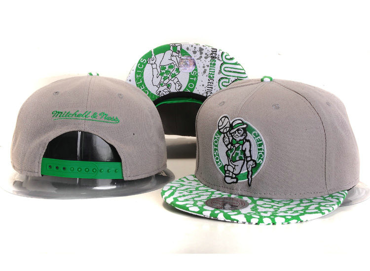 Boston Celtics Grey Snapback Hat YS