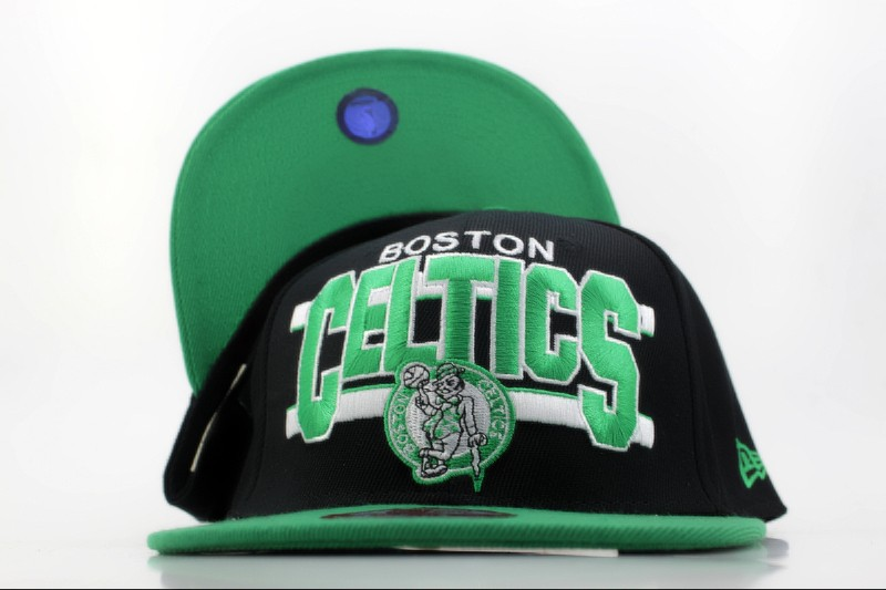 Boston Celtics Snapback Hat QH 3